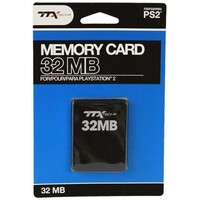 TTX Memory Card 32MB PS2