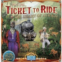 Ticket to Ride Africa Expansion
