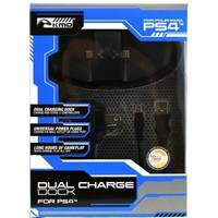 Charger Dual Charge Dock Black PS4
