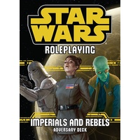 Star Wars RPG Imperials & Rebels Adversary Deck