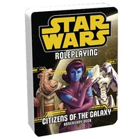 Star Wars RPG Citizens Of The GalaxyAdversary Deck
