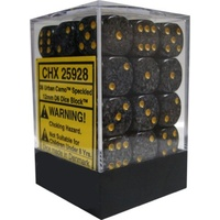 Chessex -  D6 Dice Speckled 12mm Urban Camo (36 Dice in Display)