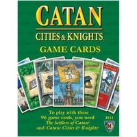 Catan Cities & Knights Expansion Card Deck 5th Edition