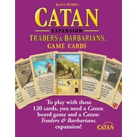 Catan Traders & Barbarians Expansion Card Deck 5th Edition