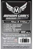 Mayday Magnum Silver Lost Cities Card 70x110mm Sleeves