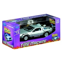 Back To The Future Die Cast DeLorean 1:24 Scale