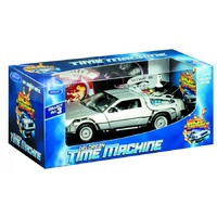 Back To The Future II Die Cast DeLorean 1:24 Scale