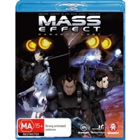 Mass Effect Paragon Lost Blu-Ray
