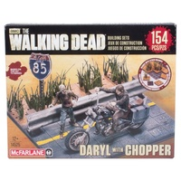 The Walking Dead | Builder Set Daryl Dixon with Chopper - McFarlane Toys