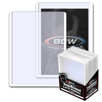 BCW 3 X 4 Topload Card Holder - White Border