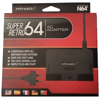 N64 Super Retro AC Adaptor AU