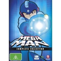Mega Man Complete Collection DVD