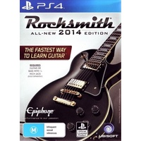 Rocksmith 2014 With Real Tone Cable Bundle PS4