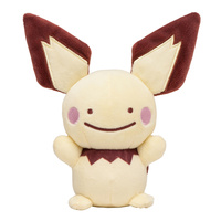 Pokemon Center Plush - Ditto Face Pichu