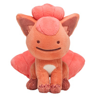 Pokemon Center Plush - Ditto Face Vulpix
