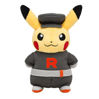 Pokemon Center Plush - Team Rocket Pikachu