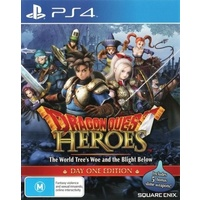 Dragon Quest Heroes: The World Tree's Woe and the Blight Below Day 1 One Edition PS4
