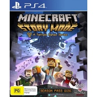 Minecraft Story Mode Season Disc PS4