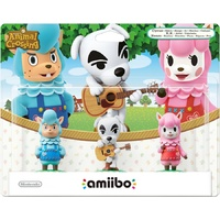 Amiibo Animal Crossing Triple Pack WiiU