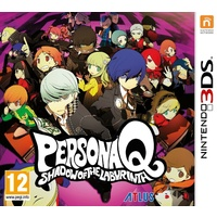 Persona Q Shadows of the Labyrinth 3DS