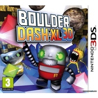 Boulder Dash-XL 3D 3DS (UK import)