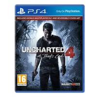 Uncharted 4: A Thief's End PS4 (with Launch Edition DLC)