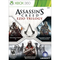 Assassin's Creed Ezio Trilogy (AC II, AC Brotherhood, AC Revelations) 360