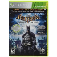 Batman Arkham Asylum Game of the Year GOTY 360