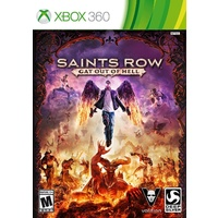 Saints Row 4 IV Gat Out of Hell Xbox 360