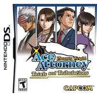 Phoenix Wright Ace Attorney 3 Trials and Tribulations DS
