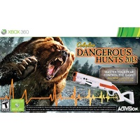 Cabela's Dangerous Hunts 2013 with Top Shot Fearmaster Gun 360