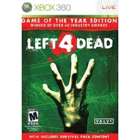 Left 4 Dead Game of the Year Edition GOTY 360