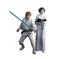 Star Wars: A New Hope Luke Skywalker & Princess Leia ARTFX+ Statue
