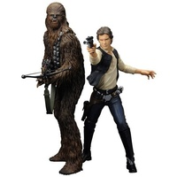 Star Wars: Han Solo and Chewbacca A New Hope ArtFX+ Statue Two Pack