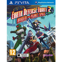 Earth Defense Force 2: Invaders from Planet Space PAL Vita