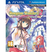 Dungeon Travelers 2: The Royal Library and the Monster Seal VIta