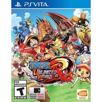 One Piece Unlimited World Red Vita
