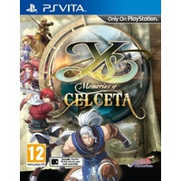 Ys: Memories of Celceta Vita PAL