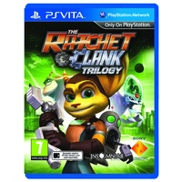 The Ratchet and Clank HD Trilogy Collection Vita