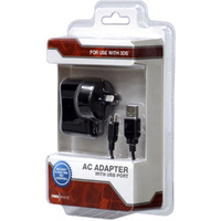 USB AC Adapter for Nintendo 3DS & Nintendo Classic Mini Nes