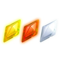 Pokemon Z Ring Crystals (Electric, Fighting and Normal)