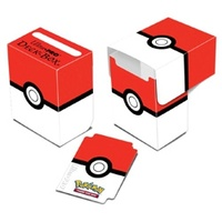 Ultra Pro Pokemon TCG Pokeball Red/White Deck Box