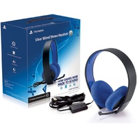 PlayStation Silver Wired Stereo Headset PS4/PS3/Vita