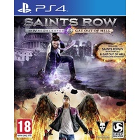 Saints Row 4 IV Re-Elected (Inc. Gat Out of Hell) PS4