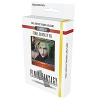 Final Fantasy Trading Card Game: Starter Set Final Fantasy VII 7 (Fire and Earth)