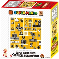 Super Mario 30th Anniversary Brothers Jigsaw Puzzle (Yellow - 144 piece)