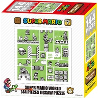 Super Mario 30th Anniversary Brothers Jigsaw Puzzle (Green -144 piece)