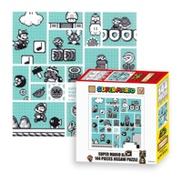 Super Mario 30th Anniversary Brothers Jigsaw Puzzle (Blue -144 piece)