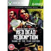 Red Dead Redemption Game of the Year GOTY Edition Xbox 360