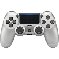 PlayStation 4 DualShock 4 Wireless Controller - Silver PS4
